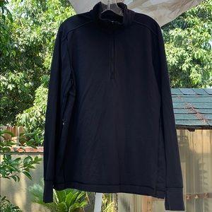 Lululemon Longsleeve Thumbholes Quarter Zip Shirt